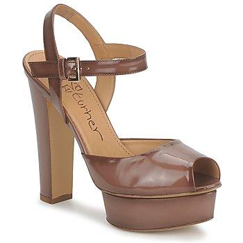 Παπούτσια Γυναίκα Σανδάλια / Πέδιλα Eva Turner ERSILIA Brown