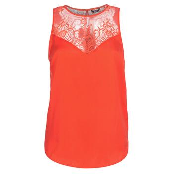 Υφασμάτινα Γυναίκα Μπλούζες Guess SCARLET Red