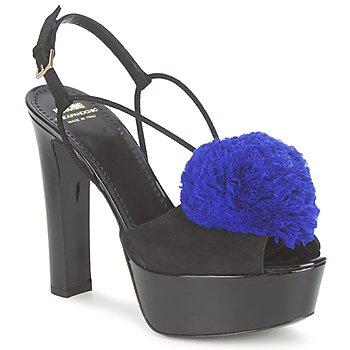 Παπούτσια Γυναίκα Σανδάλια / Πέδιλα Moschino Cheap & CHIC CA1608 Ooc-μαυρο-μπλε / Klein
