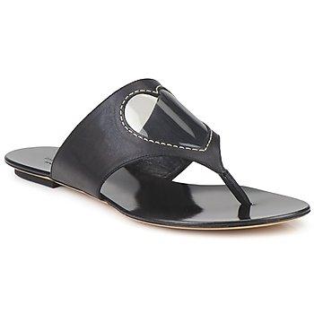 Παπούτσια Γυναίκα Σαγιονάρες Moschino Cheap & CHIC CALOTROPIS Black