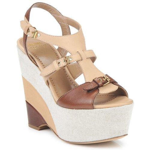 Παπούτσια Γυναίκα Σανδάλια / Πέδιλα Moschino Cheap & CHIC STERLIZIA Μπεζ-καφε