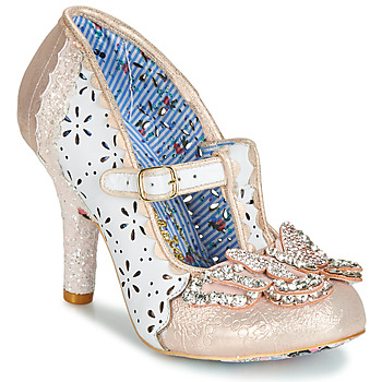 Παπούτσια Γυναίκα Γόβες Irregular Choice PAPILLON Άσπρο