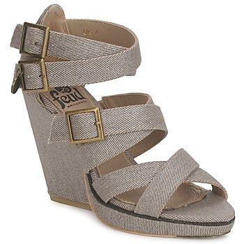 Παπούτσια Γυναίκα Σανδάλια / Πέδιλα Feud WASP Taupe
