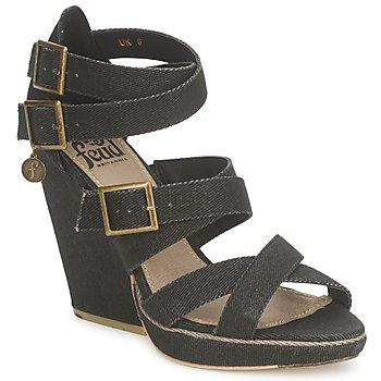 Παπούτσια Γυναίκα Σανδάλια / Πέδιλα Feud WASP Black