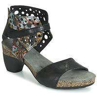 Παπούτσια Γυναίκα Σανδάλια / Πέδιλα Think ZEG Black