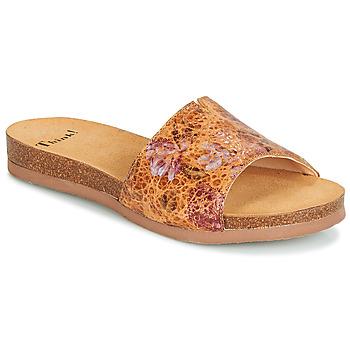 Παπούτσια Γυναίκα Τσόκαρα Think TANA Brown