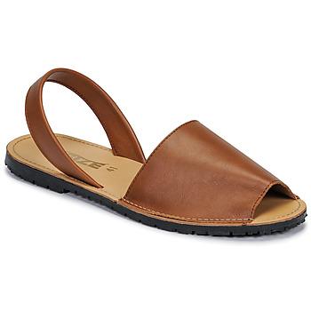 Παπούτσια Γυναίκα Σανδάλια / Πέδιλα So Size LOJA Brown