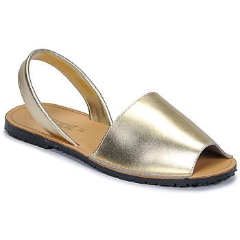 Παπούτσια Γυναίκα Σανδάλια / Πέδιλα So Size LOJA Gold