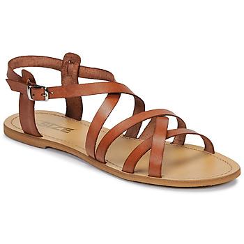 Παπούτσια Γυναίκα Σανδάλια / Πέδιλα So Size IDITRON Brown