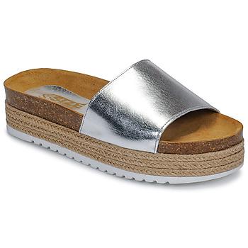 Παπούτσια Γυναίκα Τσόκαρα So Size JITRUNE Silver
