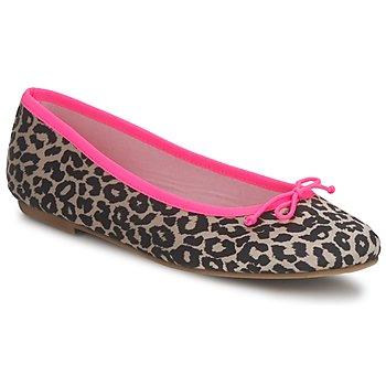 Παπούτσια Γυναίκα Μπαλαρίνες Cara NEONLEOPARD Leopard
