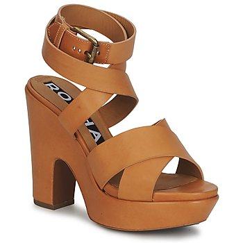 Παπούτσια Γυναίκα Σανδάλια / Πέδιλα Rochas RO18082 Brown