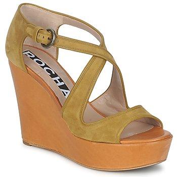 Παπούτσια Γυναίκα Σανδάλια / Πέδιλα Rochas RO18131 Brown