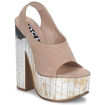 Παπούτσια Γυναίκα Σανδάλια / Πέδιλα Rochas RO18175 Tabacco