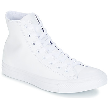 Παπούτσια Ψηλά Sneakers Converse ALL STAR MONOCHROME CUIR HI Άσπρο