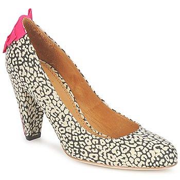 Παπούτσια Γυναίκα Γόβες Maloles CHRISTIA Black / άσπρο / ροζ