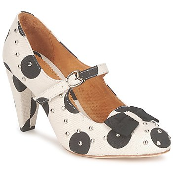 Παπούτσια Γυναίκα Γόβες Maloles CLARITA άσπρο / Black