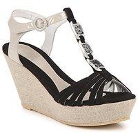 Παπούτσια Γυναίκα Σανδάλια / Πέδιλα Regard RAFAZA Black