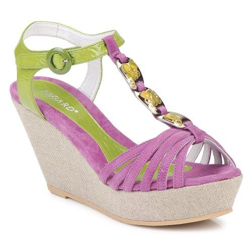 Παπούτσια Γυναίκα Σανδάλια / Πέδιλα Regard RAFAZA VIOLINE / Green