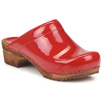 Παπούτσια Γυναίκα Σαμπό Sanita CLASSIC PATENT Red
