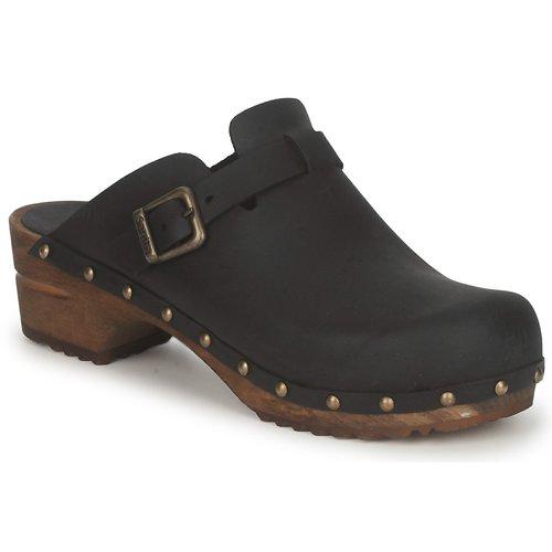 Παπούτσια Γυναίκα Σαμπό Sanita KRISTEL OPEN Black