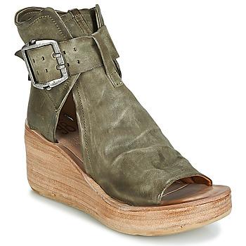 Παπούτσια Γυναίκα Σανδάλια / Πέδιλα Airstep / A.S.98 NOA BUCKLE Kaki