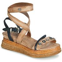 Παπούτσια Γυναίκα Σανδάλια / Πέδιλα Airstep / A.S.98 LAGOS Beige / Black