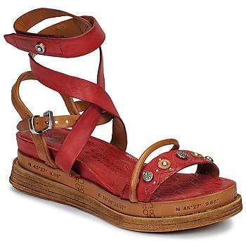 Παπούτσια Γυναίκα Σανδάλια / Πέδιλα Airstep / A.S.98 LAGOS Red