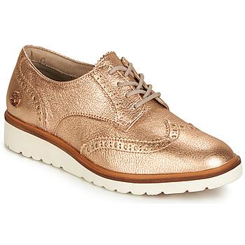 Παπούτσια Γυναίκα Derby Timberland ELLIS STREET OXFORD Ροζ / Χρυσο