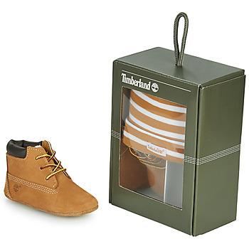 Παπούτσια Παιδί Παντόφλες Timberland CRIB BOOTIE WITH HAT Blé / Brown