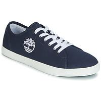 Παπούτσια Παιδί Χαμηλά Sneakers Timberland NEWPORT BAY CANVAS OX Μπλέ