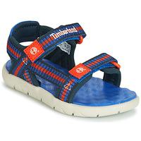 Παπούτσια Παιδί Σανδάλια / Πέδιλα Timberland PERKINS ROW WEBBING SNDL Μπλέ