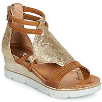 Παπούτσια Γυναίκα Σανδάλια / Πέδιλα Mjus TAPASITA Gold / Camel
