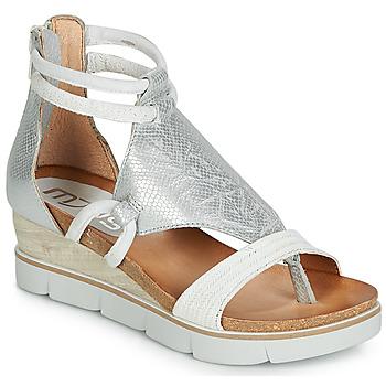 Παπούτσια Γυναίκα Σανδάλια / Πέδιλα Mjus TAPASITA Άσπρο / Silver