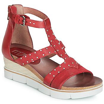 Παπούτσια Γυναίκα Σανδάλια / Πέδιλα Mjus TAPASITA CLOU Red