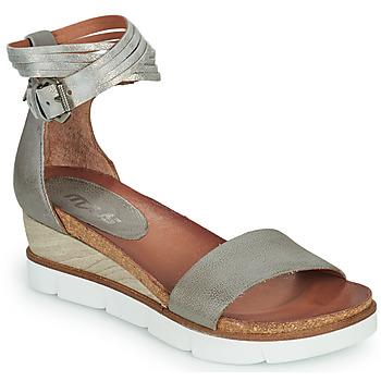 Παπούτσια Γυναίκα Σανδάλια / Πέδιλα Mjus TAPASITA Grey / Silver