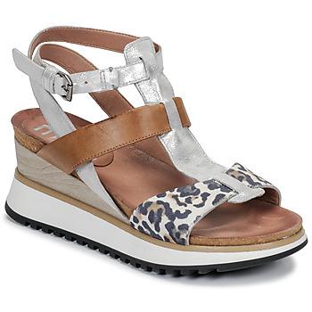 Παπούτσια Γυναίκα Σανδάλια / Πέδιλα Mjus TARDE Camel / Leo