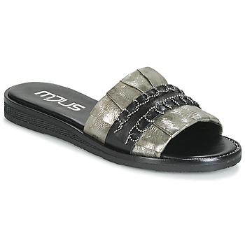 Παπούτσια Γυναίκα Τσόκαρα Mjus TEMPLE Kaki / Black