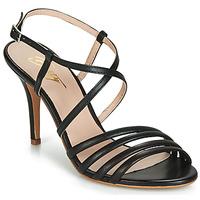Παπούτσια Γυναίκα Σανδάλια / Πέδιλα Betty London JIKOTIPE Black