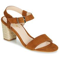 Παπούτσια Γυναίκα Σανδάλια / Πέδιλα Betty London JIKOTIFE Camel