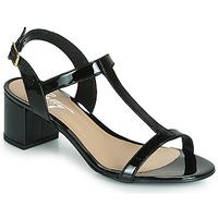 Παπούτσια Γυναίκα Σανδάλια / Πέδιλα Betty London CREPE Black