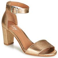 Παπούτσια Γυναίκα Σανδάλια / Πέδιλα Betty London CRETOLIA Gold