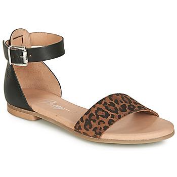 Παπούτσια Γυναίκα Σανδάλια / Πέδιλα Betty London JIKOTIRE Black