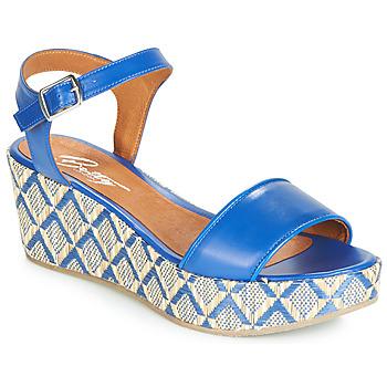 Παπούτσια Γυναίκα Σανδάλια / Πέδιλα Betty London JIKOTERE Μπλέ
