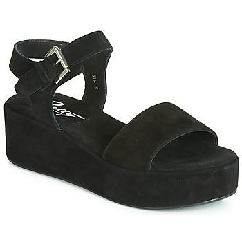 Παπούτσια Γυναίκα Σανδάλια / Πέδιλα Betty London JIKOTETE Black
