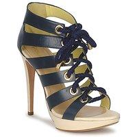 Παπούτσια Γυναίκα Σανδάλια / Πέδιλα Pollini PA1609CC1V μπλέ
