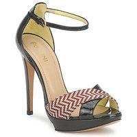 Παπούτσια Γυναίκα Σανδάλια / Πέδιλα Pollini PA1638CC1V Cuoio-κοκκινο