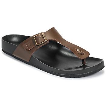 Παπούτσια Άνδρας Σαγιονάρες Dream in Green JAKALEX Brown
