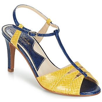 Παπούτσια Γυναίκα Σανδάλια / Πέδιλα Ippon Vintage DROP BACK Marine / Yellow