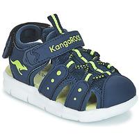 Παπούτσια Παιδί Σανδάλια / Πέδιλα Kangaroos K-MINI Marine / Yellow